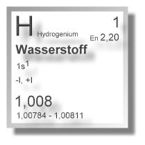 Wasserstoff Verbindungen