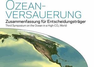 Broschüre zur Ozeanversauerung